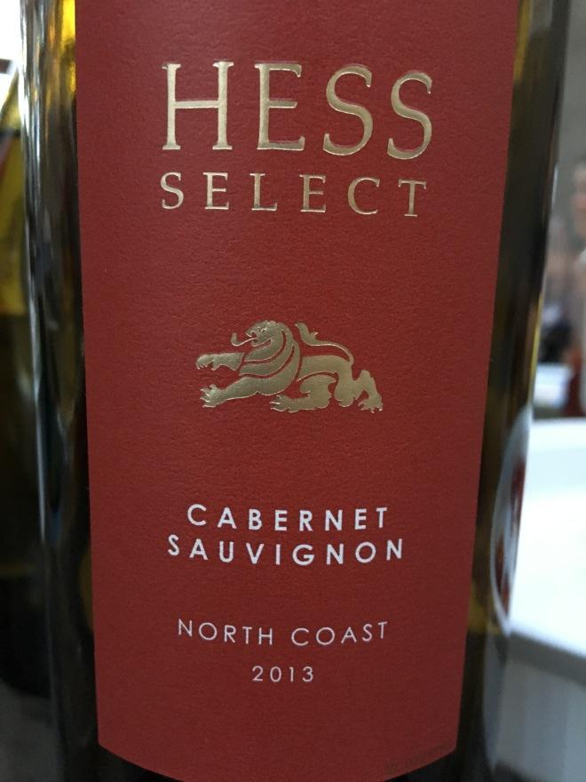 Hess Select 2013 CAbernet SauvignonJPG